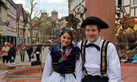 Melanie Katzenmeyer und Michael Fechler in Bensheim
