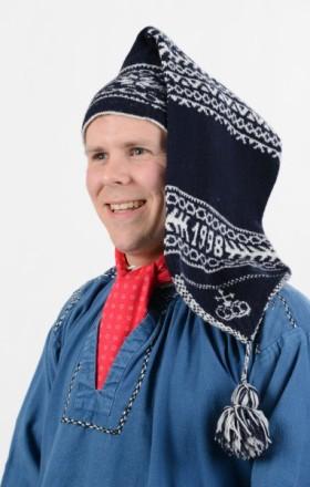 Kopfbedeckung der Edertal Tracht