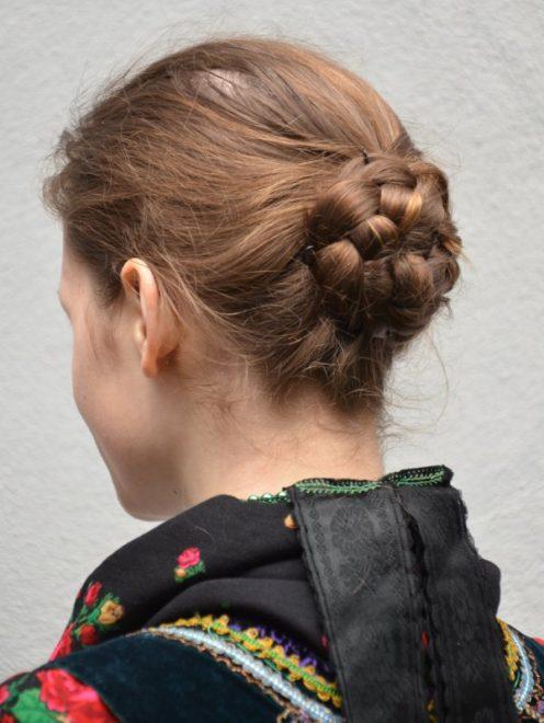 Eibacher Tracht Frau Haartracht