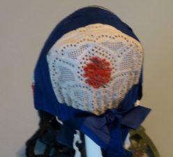 Eibacher Tracht Frauentracht Kopfbedeckung Rot