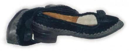 Marburger Evangelische Tracht Schuhe