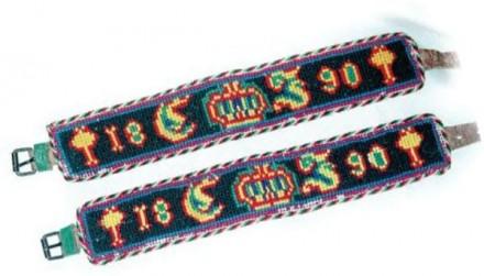 Marburger Evangelische Tracht Strumpfbänder
