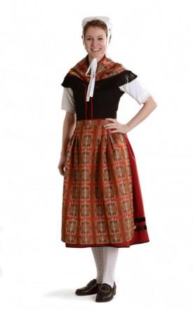Frau in Odenwälder Tracht