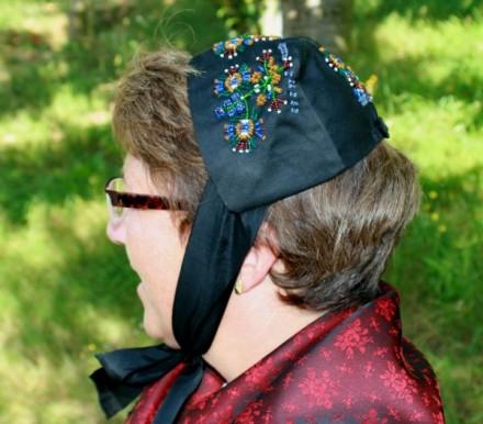 Odenwälder Tracht Talzenthaube