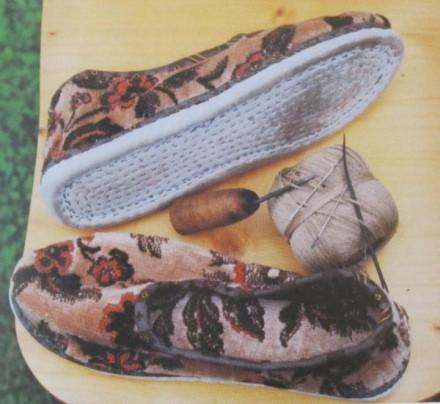 Rotenburger Tracht Schuhe der Frau