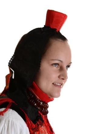 Schwälmer Tracht Kopfbedeckung der Frau