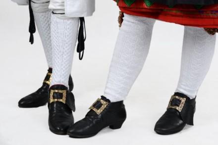 Schuhe der Schwälmer Tracht