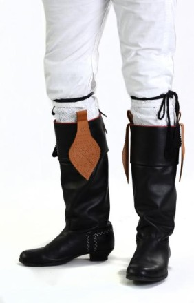 Schwälmer Tracht Stiefel