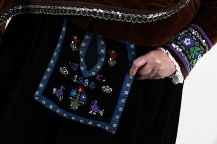 Watzenborner Tracht Taschensack