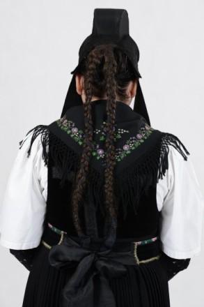 Tracht des Amtes Biedenkopf Haartracht