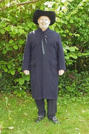 Tracht des Amtes Biedenkopf Mantel des Mannes