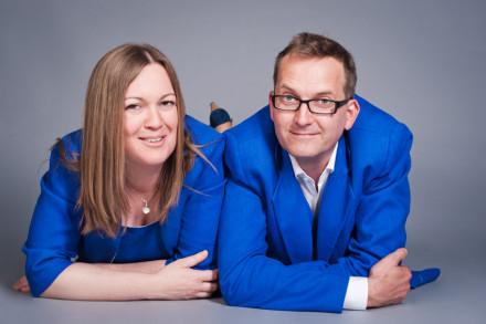 Alexandra Berge und Tobias Krechel