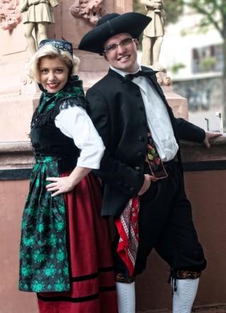 Anne Weihrich und Markus Glanzner