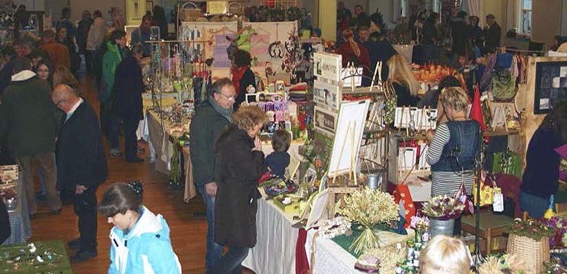 Lauterbacher Kunsthandwerker- und Brauchtumsmarkt am 1. November 2015