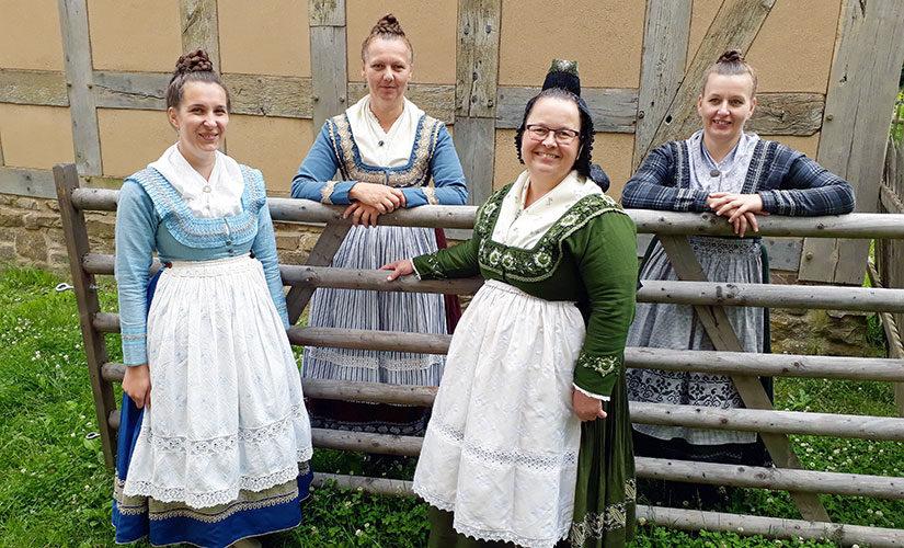 Die Marburger Evangelische Tracht ist Tracht des Jahres 2018